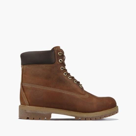 נעליים טימברלנד לגברים Timberland 6IN Premium - חום כהה