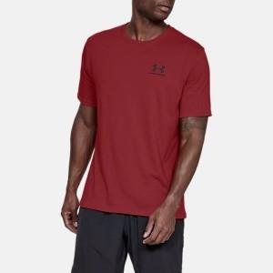 חולצת T אנדר ארמור לגברים Under Armour Armour Sportstyle - אדום