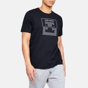 ביגוד אנדר ארמור לגברים Under Armour Inverse Box Logo - שחור