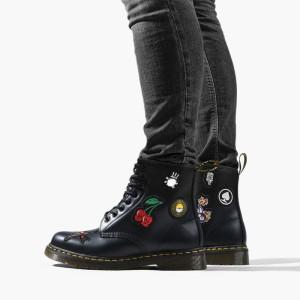 מגפיים דר מרטינס  לנשים DR Martens Dr  1460 Patch Black - שחור