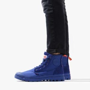 מגפיים פלדיום לנשים Palladium Pampa Pilou - כחול