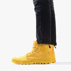 מגפיים פלדיום לנשים Palladium Pampa Pilou - צהוב
