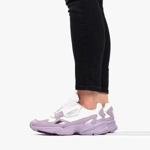 נעליים אדידס לנשים Adidas  x Fiorucci Falcon ZIp  - לבן/סגול