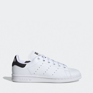 נעליים Adidas Originals לנשים Adidas Originals STAN SMITH W - שחור/לבן