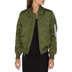 ביגוד אלפא אינדסטריז לנשים Alpha Industries MA-1 - ירוק