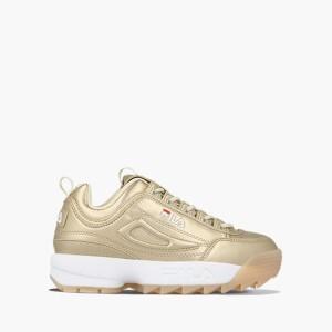 נעליים פילה לנשים Fila Disruptor M Low WMN - זהב