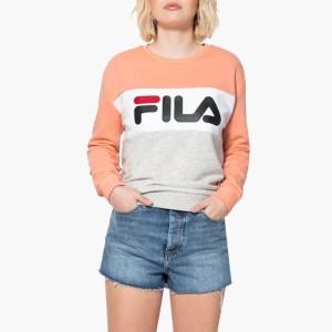 בגדי חורף פילה לנשים Fila Leah - כתום
