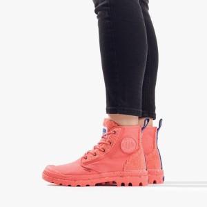 מגפיים פלדיום לנשים Palladium Pampa Pilou - ורוד