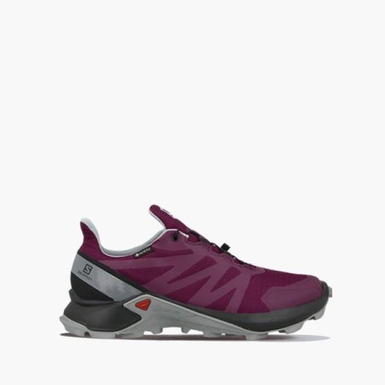 נעליים סלומון לנשים Salomon Supercross Gore-Tex GTX W - סגול