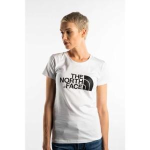 חולצת T דה נורת פיס לנשים The North Face EASY TEE JK3 - לבן