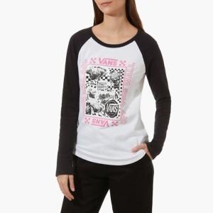 בגדי חורף ואנס לנשים Vans Lady Sting - שחור/לבן