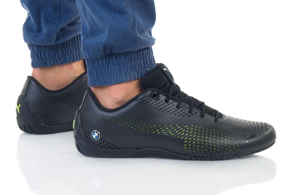 נעליים פומה לגברים PUMA BMW MMS DRIFT CAT 5 ULTRA II - שחור/צהוב