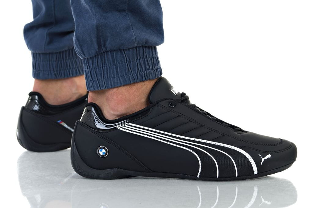 נעליים פומה לגברים PUMA BMW MMS FUTURE KART CAT - שחור