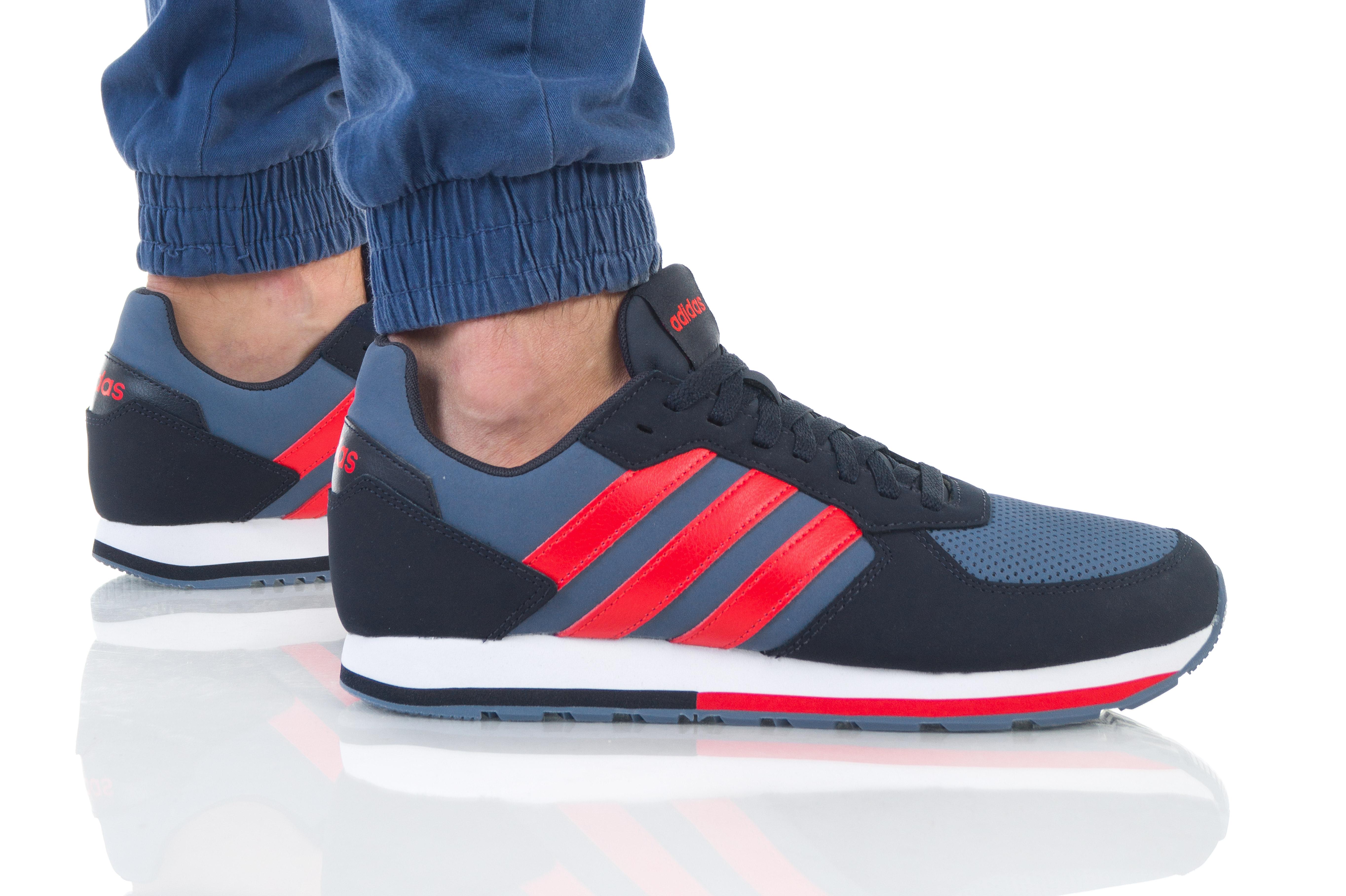 נעליים אדידס לגברים Adidas 8K - שחור/אדום