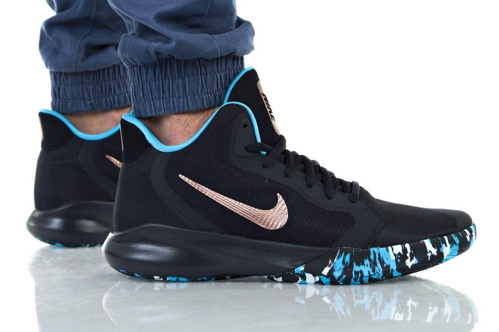 נעליים נייק לגברים Nike PRECISION III - שחור