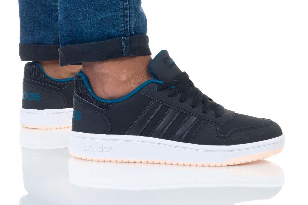 נעליים אדידס לנשים Adidas HOOPS 2 - שחור/כחול