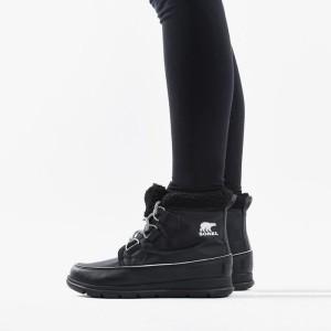 נעליים סורל לנשים Sorel Explorer Carnival - שחור מלא