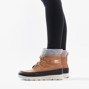 נעליים סורל לנשים Sorel Explorer Carnival - חום