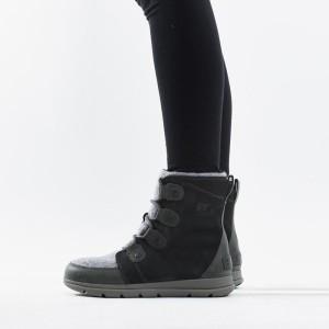 נעליים סורל לנשים Sorel Explorer Joan - אפור כהה