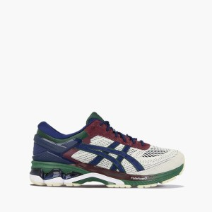 נעליים אסיקס לגברים Asics Gel-Kayano 26 - לבן  כחול  אדום