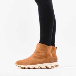 נעליים סורל לנשים Sorel Kinetic Short - חום