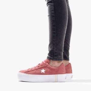 נעליים קונברס לנשים Converse One Star Platform - ורוד