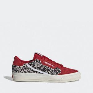 נעליים Adidas Originals לגברים Adidas Originals Originals Continental Vulc - אדום