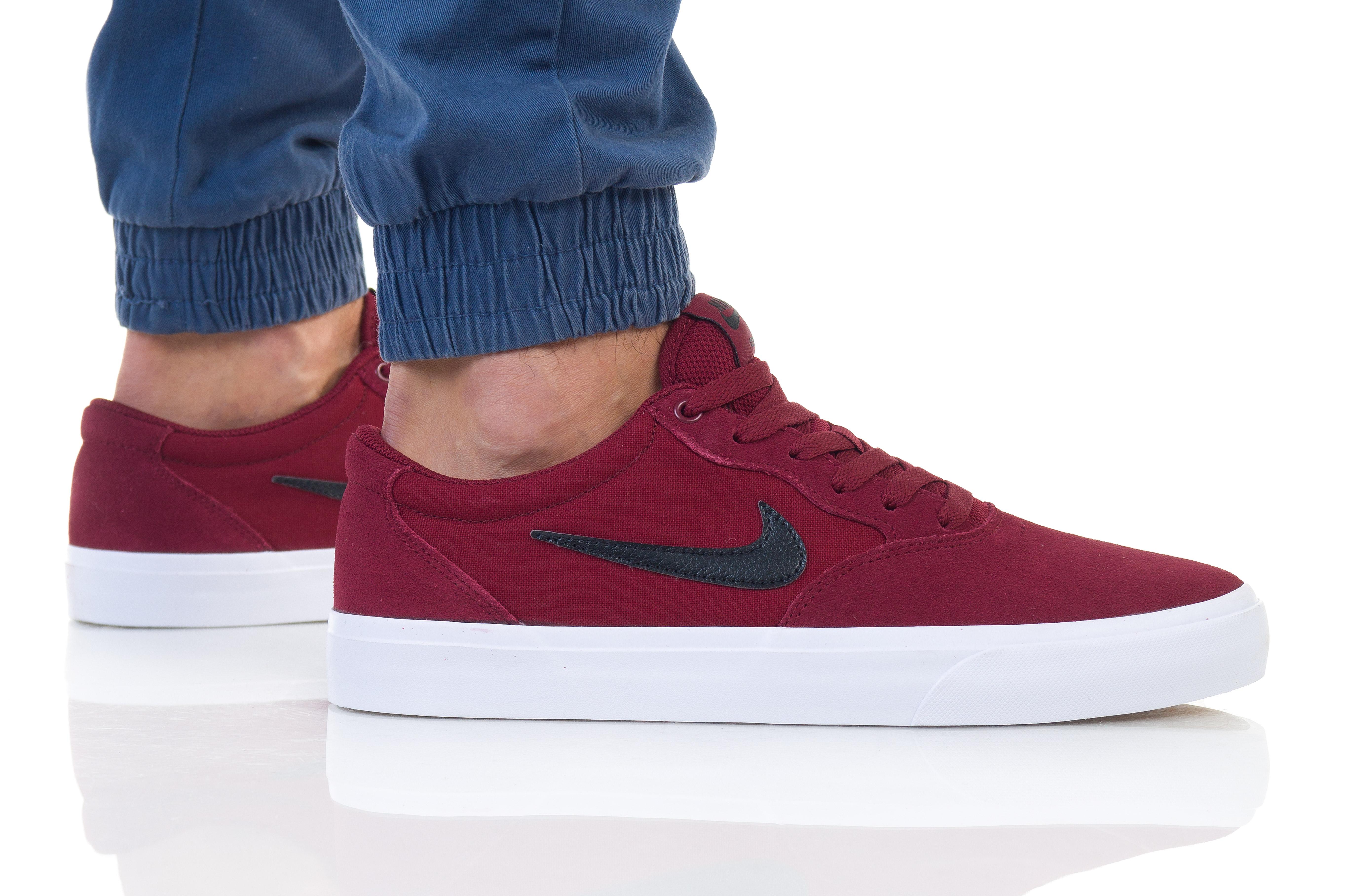 נעליים נייק לגברים Nike SB CHRON SLR - אדום