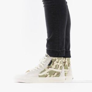 נעליים ואנס לגברים Vans Sk8-Hi - לבן
