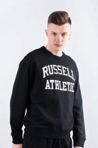 סווטשירט ראסל אתלטיק לגברים Russell Athletic CREW NECK SWEATSHIRT 099 - שחור