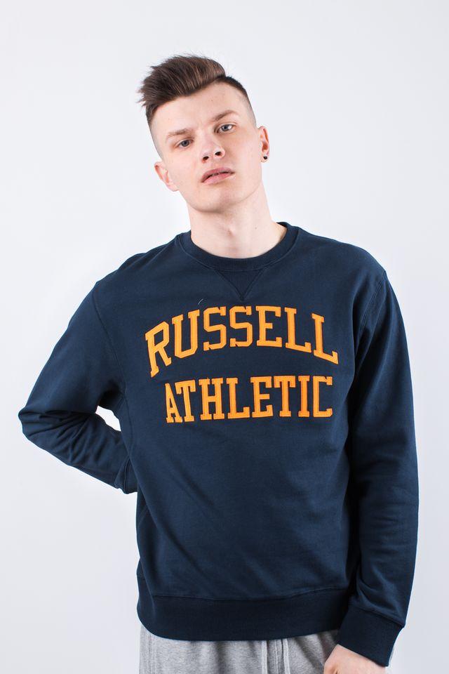 ביגוד ראסל אתלטיק לגברים Russell Athletic CREWNECK SWEATSHIRT 099 - כחול