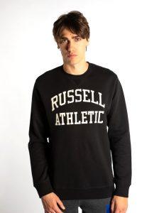 סווטשירט ראסל אתלטיק לגברים Russell Athletic CREWNECK SWEATSHIRT 099 - שחור