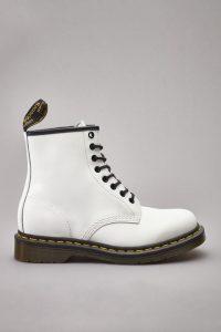 נעליים דר מרטינס  לנשים DR Martens 1460 SMOOTH - לבן מלא