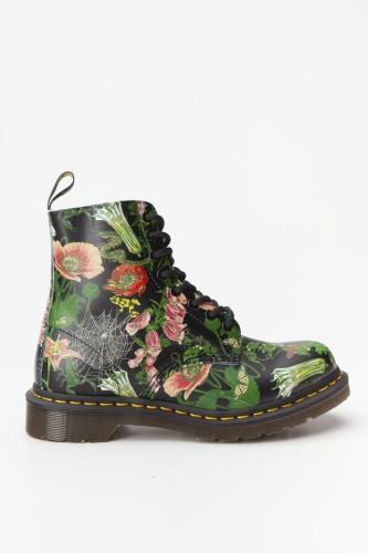 מגפיים דר מרטינס  לנשים DR Martens 1460 PASCAL WILD BOTANICS - צבעוני בהיר