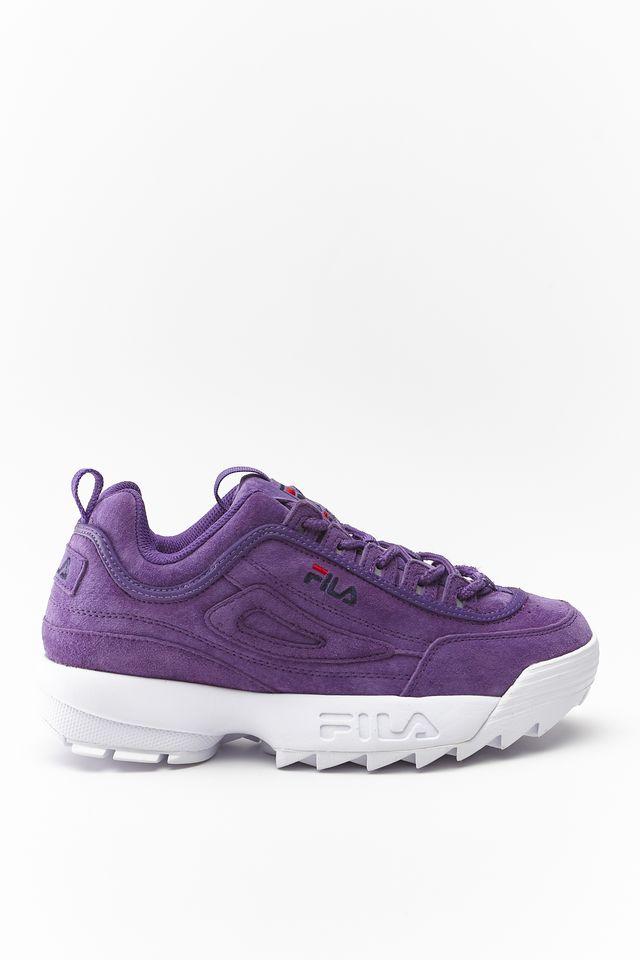 נעליים פילה לנשים Fila Disruptor S Low - סגול