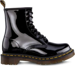 נעליים דר מרטינס  לנשים DR Martens W Black Patent - שחור
