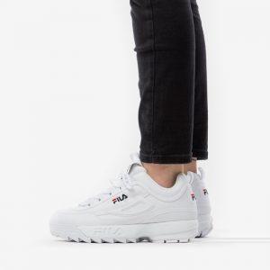 נעליים פילה לנשים Fila Disruptor Low - לבן מלא