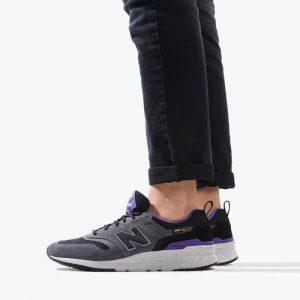 נעליים ניו באלאנס לגברים New Balance CM997HFC - שחור/סגול