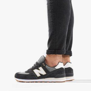 נעליים ניו באלאנס לגברים New Balance ML574SNL - אפור/לבן