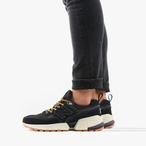 נעליים ניו באלאנס לגברים New Balance MS574ARB - שחור/לבן