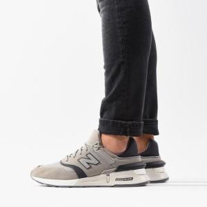 נעליים ניו באלאנס לגברים New Balance MS997MA - אפור