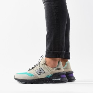 נעליים ניו באלאנס לגברים New Balance MS997SB - אפור/ירוק