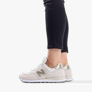 נעליים ניו באלאנס לנשים New Balance WL574BTB - לבן