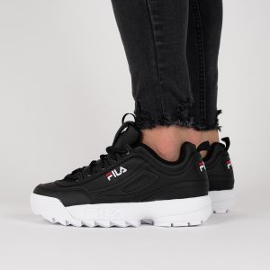נעליים פילה לנשים Fila Disruptor Low - שחור/לבן