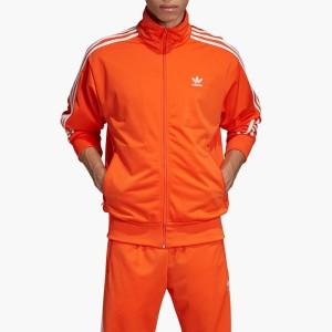 בגדי חורף אדידס לגברים Adidas Firebird Track Top - כתום