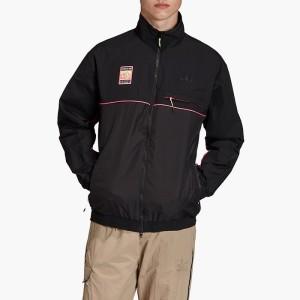 בגדי חורף אדידס לגברים Adidas Graphic Track Jacket - שחור