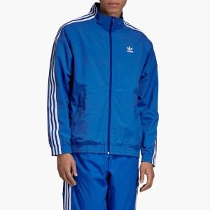 בגדי חורף אדידס לגברים Adidas Lock Up Logo Track Top - כחול