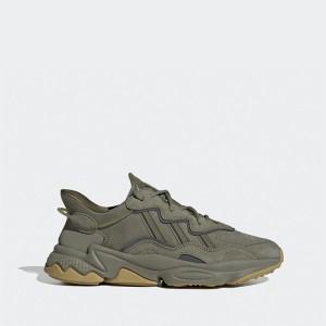 נעליים אדידס לגברים Adidas Originals Ozweego - ירוק