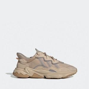 נעלי סניקרס אדידס לגברים Adidas Originals Ozweego - בז'