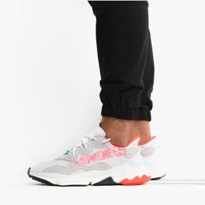 נעליים אדידס לגברים Adidas Originals Ozweego - לבן